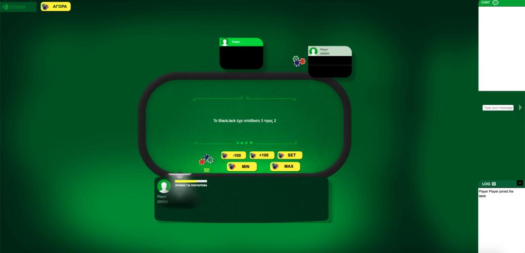 Blackjack: Θέτωντας το στοίχημα